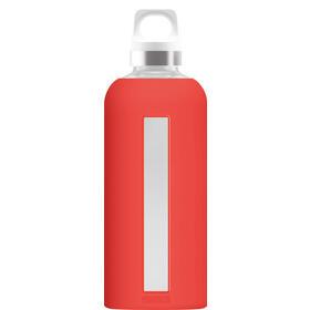 sigg-864920-bidon-de-agua-500-ml-uso-diario-naranja-rojo-vidrio