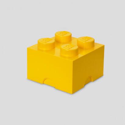 room-copenhagen-lego-storage-brick-4-amarillo-caja-de-almacenamiento-amarilla