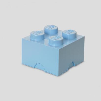 room-copenhagen-lego-storage-brick-4-azul-claro-caja-de-almacenamiento-azul-claro