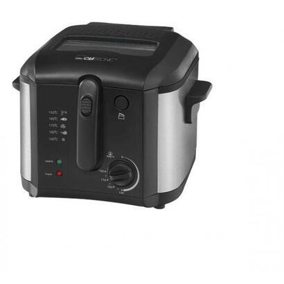 clatronic-freidora-fr-3649-25-l-sencillo-negro-1600-w