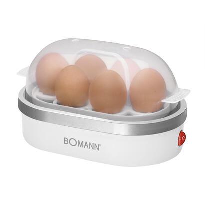 bomann-ek-5022-cb-cuecehuevos-6-huevos-400-w-plata-transparente-blanco