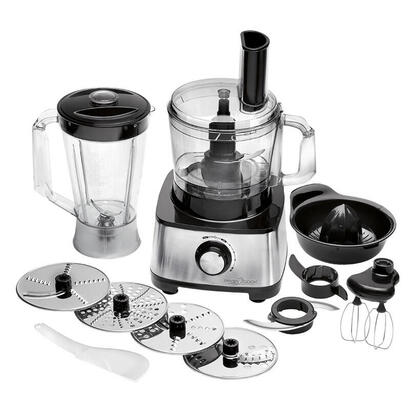 proficook-pc-km-1063-robot-de-cocina-175-l-negro-acero-inoxidable-1200-w