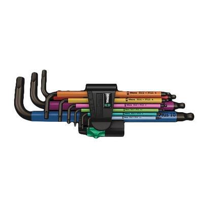 wera-950-spkl9-hex-plus-hex-key-set-juego-de-llaves-allen-metricoimperial-9-piezas