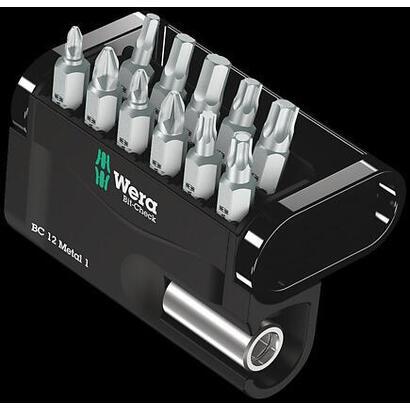 wera-bc-12-metal-1-punta-de-destornillador-12-piezas