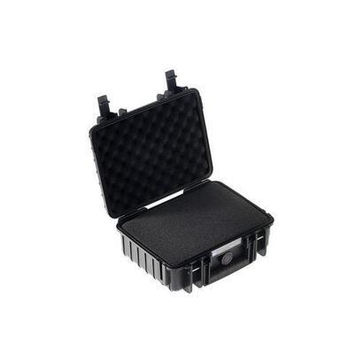 bw-outdoor-case-type-1000-negra-con-inserto-de-espuma-precortado