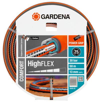 gardena-18069-20-manguera-de-jardin-50-m-negro-gris-naranja