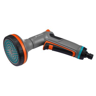 gardena-18319-20-pistola-de-pulverizacion-de-agua-o-boquilla-pistola-pulverizadora-de-agua-para-jardin-gris-naranja-de-plastico
