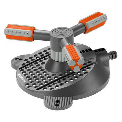gardena-2062-20-rociador-de-agua-rociador-de-agua-circular-negro-naranja