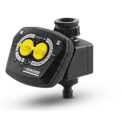 karcher-wt-4000-temporizador-de-riego-mecanico-negro-amarillo
