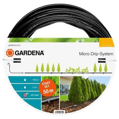 gardena-13013-20-start-set-plant-row-l-sistema-de-goteo-negro-50-metros