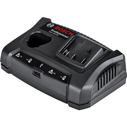 cargador-bosch-gax-18v-30-professional-negro-108-12-voltios-144-18-voltios-usb