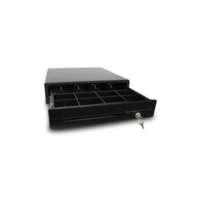 cajon-portamonedas-automatico-electrico-phoenix-46x46-tpv-8-compartimentos-monedas-5-billetes-rodamientos-railes-metalicos-negro