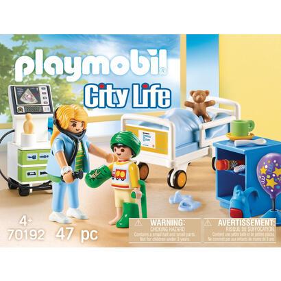 playmobil-city-life-70192-sala-hospital-infantil
