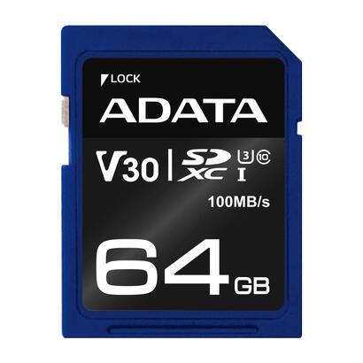 adata-asdx64gui3v30s-r-memoria-flash-64-gb-sdxc-clase-10-uhs-i