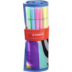 estuche-25-rotuladores-stabilo-pen-68-rollerset-20-colores-estandar5-neon-punta-media-nailon