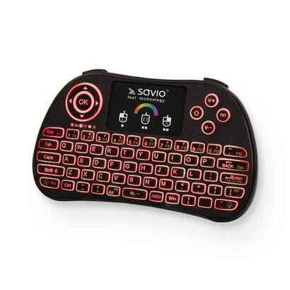 keyboard-ingles-wireless-savio-kw-03-black-color