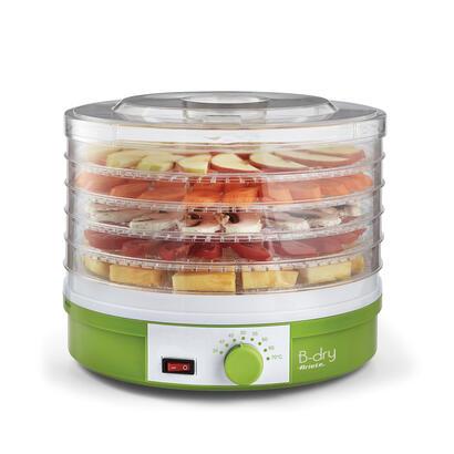 cocina-al-vapor-deshidratadora-ariete-616-245w-termostato-ajustable-5-cestas-apilables-ventilador-interior-sin-bpa