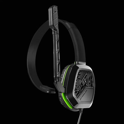 pdp-afterglow-lvl-1-chat-auriculares-diadema-juego-negro-monoaural-verde