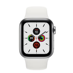 smartwatch-apple-series-5-gps-cell-40mm-caja-acero-con-correa-blanca-deportiva-mwx42tya