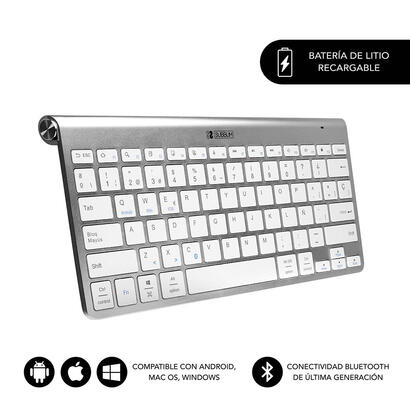 subblim-pure-compact-silver-teclado-bluetooth