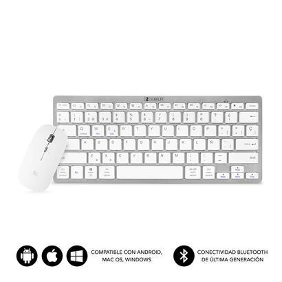 subblim-dynamic-combo-compact-silver-teclado-bluetooth-raton-inalambrico