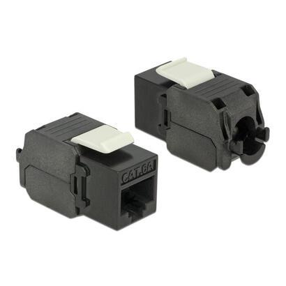 delock-86267-conector-rj45-para-modulo-keystone-lsa-cat6a-utp-negro