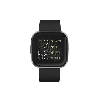 fitbit-fb507bkbk-versa-2-negroaluminio-smartwatch-reloj-de-salud-y-forma-fisica-con-amazon-alexa-integrada
