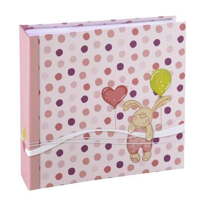 hama-kleiner-hase-album-de-foto-y-protector-rosa-100-hojas