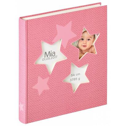 walther-design-uk-133-r-album-de-foto-y-protector-rosa-50-hojas