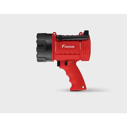 favour-protech-s0343-linterna-de-mano-negro-rojo-led
