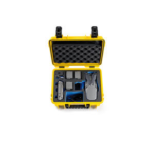 bw-copter-case-type-3000-y-yellow-with-dji-mavic-2-inlay