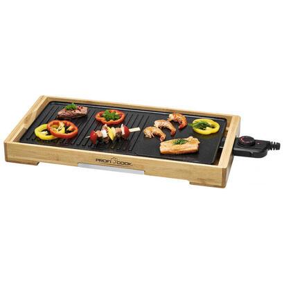 proficook-pc-tyg-1143-placa-teppanyaki-sobremesa-aluminio-2200-w