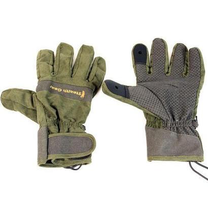 stealth-gear-sgglxl-guante-de-seguridad-verde-oliva-microfibra-poliester