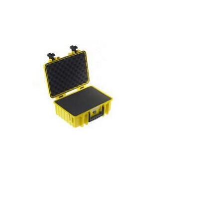 b-w-outdoor-case-type-4000-inserto-de-particion-acolchado-amarillo