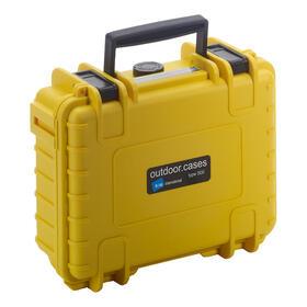 bw-outdoor-case-type-500-amarilla-con-inserto-de-espuma-precortado
