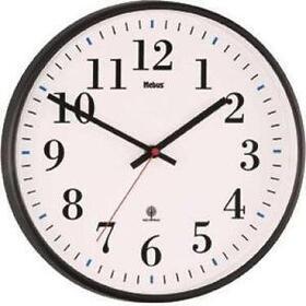 mebus-reloj-de-pared-radio-controlado-analogico-negro-bajo-cristal-30-cm