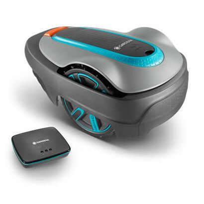 gardena-sileno-robot-cortacesped-negro-turquesa-bateria