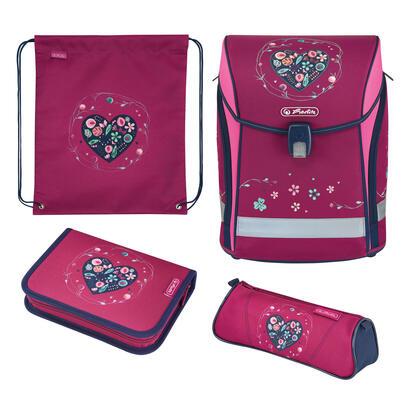 herlitz-midi-plus-heart-juego-de-mochila-escolar-chica-poliester-azul-rosa-violeta