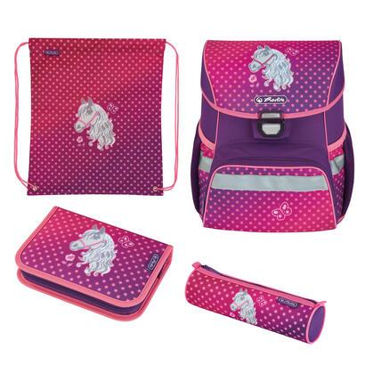 herlitz-loop-plus-horse-juego-de-mochila-escolar-chica-poliester-rosa-purpura
