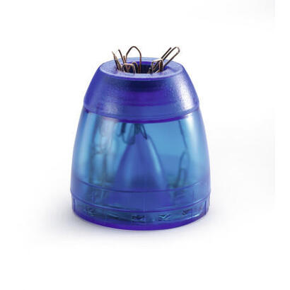 durable-trend-dispensador-de-clips-azul-transparente