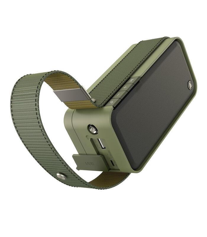 hama-soldier-l-20-w-altavoz-monofonico-portatil-oliva