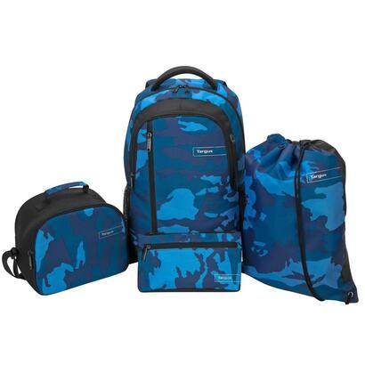 mochila-targus-4-1-azul-camuflaje-4-piezas-en-una-mochila-saco-gym-estuche-neverafiambrera-tsb96302eu
