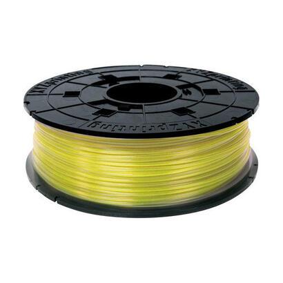 bobina-filamento-pla-color-clear-yellow-600gr-con-chip-para-rellenar-cartuchos-de-impresoras-xyz-davinci-10-pro