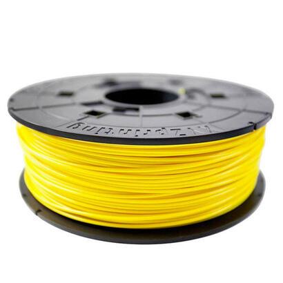 bobina-filamento-pla-color-yellow-600gr-para-impresoras-xyz-modelos-junior-mini-nano