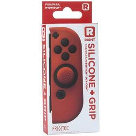 fr-tec-funda-silicona-grip-para-joy-con-derecho-rojo-para-nintendo-switch