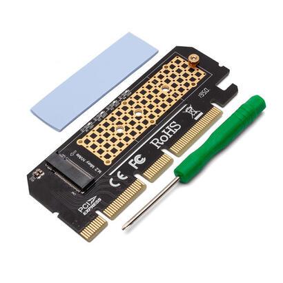 savio-adaptador-pci-e-a-m2-nvme-m-key-ak-41