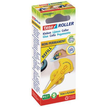 tesa-rodillo-adhesivo-no-permanente-ecologo-cartucho-de-recarga-amarillo-14-metros