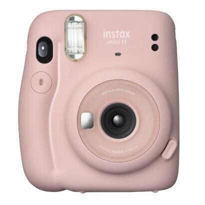 camara-instantanea-fujifilm-instax-mini-11-blush-pink-objetivo-2-componentes-flash-foto-tamano-6246mm-apagado-automatico-2aa
