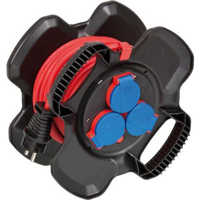 brennenstuhl-1169717100-alargo-10m-3-salidas-ac-exterior-negro-rojo