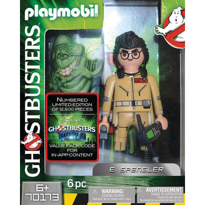 playmobil-ghostbusters-e-spengler-6-anos-multicolor